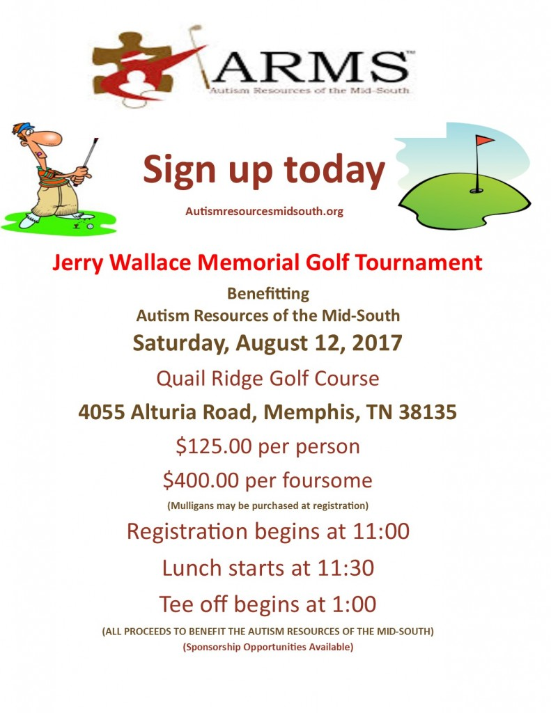 jerry wallace golf tournament flyer